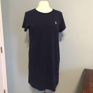 Polo Ralph Lauren T-Shirt Dress Navy XL